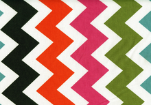 Ziggy Zig Zag Cotton Multi