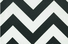 Zippy Zig Zag Chevron Stripe Slub Fabric Ash