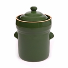 10 Liter Crock Pot Green Boleslawiec