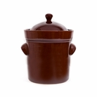 5 Liter Fermenting Crock Pot Rich Brown Boleslawiec Polish