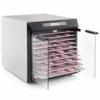Excalibur 10 Tray Dehydrator Stainless Steel Digital Control Glass Door - ETA 8/8/14
