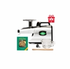 Tribest Greenstar Elite GSE-5050 Twin Gear Juicer - Chrome Special Package
