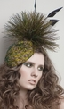 Anna Peacock Fascinator Hat by Arturo Rios