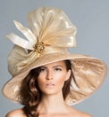 Arturo Rios' April<br> Gold Derby Hat