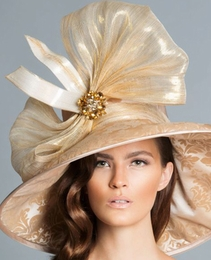 Arturo Rios' April, Gold Derby Hat