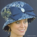 Belle of The Ball Elegant Bell Cloche Hat