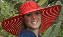 Big Brim Summer Hat, ribbon
