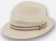 Abby Road Shantung Fedora by Biltmore