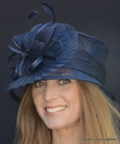British Cloche in Navy