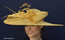 Butterscotch Belmont Derby Hat