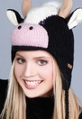 Calvin the Cow Knit Hat