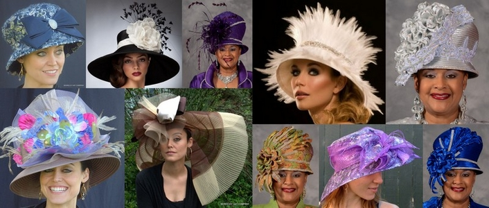 WOMEN'S CHURCH HATS & EASTER HATS