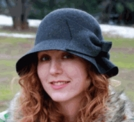 Cloche Hat with Big Bow