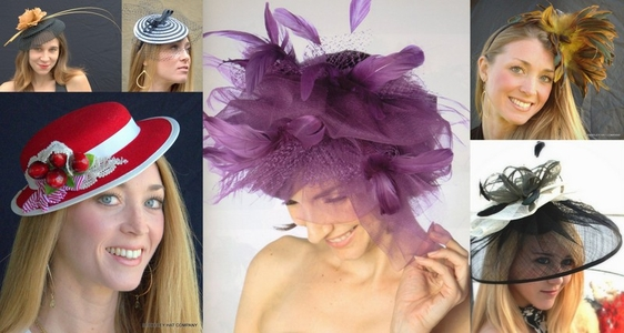 Cocktail Hats, Fascinators, Pill Boxes