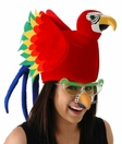 Colorful Parrot Hat<br>By ELOPE