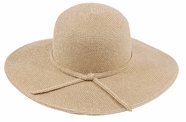Crushable Wide Brim <br>Straw Summer Hat