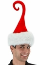 Curly-Q Santa Hat