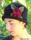 Eliza Flower Cloche Wool