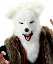 Elope Mouth Mover Mask - White Fox