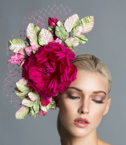 Eva, Rose Headpiece by Arturo Rios