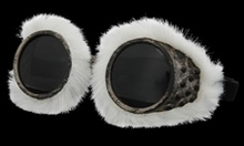 Explorer Goggles with Furry WhiteTrim