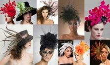 Fascinators  and    <br>    Cocktail Hats     <br>     by Arturo Rios