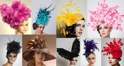 ARTURO RIOS FASCINATORS &   <br>   COCKTAIL  HATS    <br>
