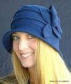Fleece Cloche Collapsible Packable Hat