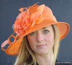 Flowered Hat for the Derby