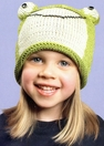 Frog Beanie Cap, Kids Cotton