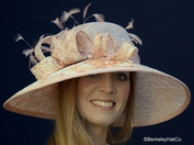 Georgia Peach Derby Hat
