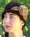 Glasgow Flower Wool Cloche