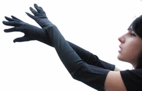 Gloves, Long Satin