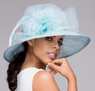 Golden Lace Kentucky Shimmering Derby Hat