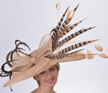 Golden Pheasant Kentucky Derby Hat