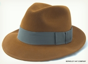 """Grauman"" Fur Felt Fedora<br>made by Stetson"
