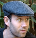 Herringbone Irish Wool Tweed  Ivy Caps  (IR21)