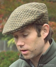 Houndstooth Heavy Weight Irish Ivy Cap  (IR22)