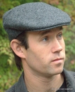 Irish Driving Cap, Grey Heather (IR65)