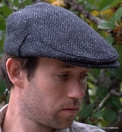 Irish Herringbone Driving Cap  (IR49)