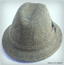 Irish Walking Hat, Green Herringbone (IR66)
