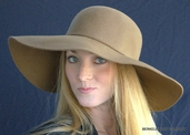 JLo Wide Brim Women's Felt Hat