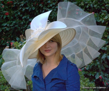 Giant Brim Hat for the Kentucky Derby
