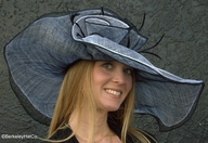 Soft Straw Hat for the Kentucky Derby