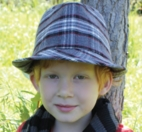 Kids Fedora Hat, Plaid