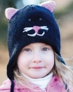Kids Kitty Face Hat