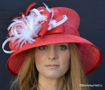 Ladies Tea at the Racetrack Hat