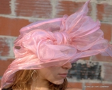 Layered Organza Hat for the Kentucky Derby
