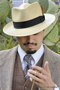 Low Crown Panama Hat, Pinzano