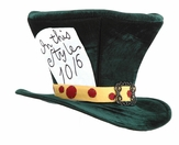 Giant Green Mad Hatter Top Hat